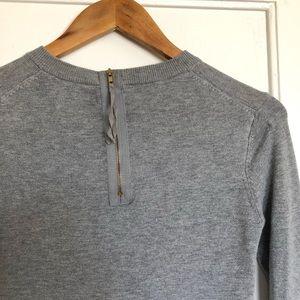 Zara Sweaters - Zara Knit Super Soft Sweater with Gold Zipper S